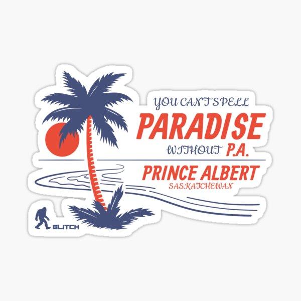 Prince Albert Paradise Sticker