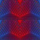 Red-B Chromatic Quad Triforce by sacrasf