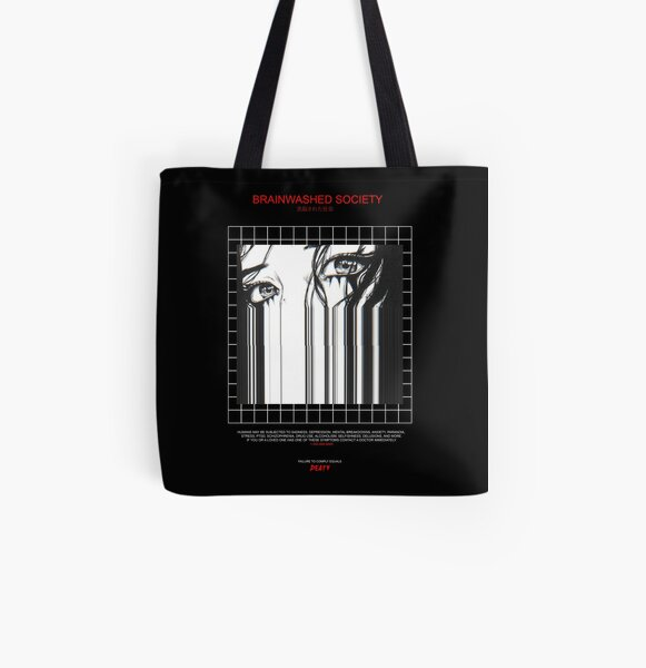 BRAINWASHED SOCIETY All Over Print Tote Bag