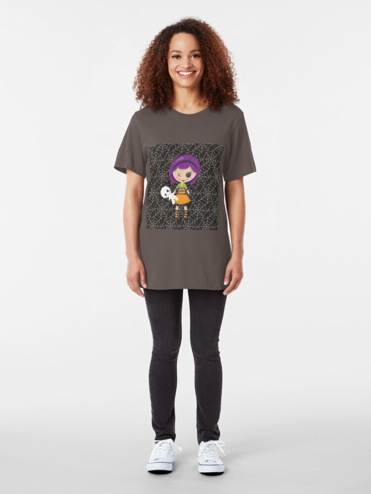 Alternate view of Violet Voodoo Slim Fit T-Shirt