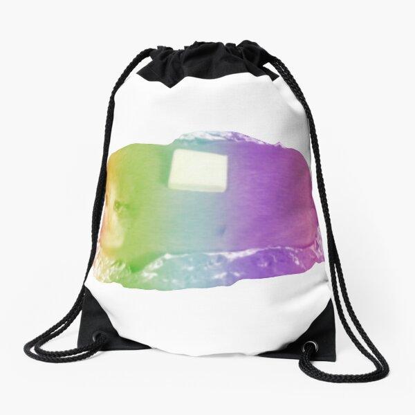 Rainbow Cat Drawstring Bag