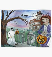Trick-or-treat Poster