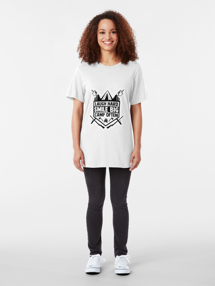 Alternate view of Camp Often Slim Fit T-Shirt