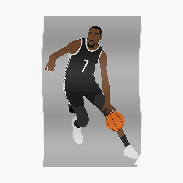 Kevin Durant Nets Poster
