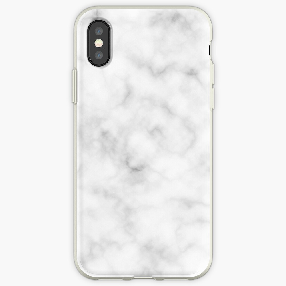 Light Grey Marble iPhone Case & Cover
