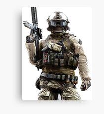 """Battlefield 4 Assault Class"" Canvas Print"