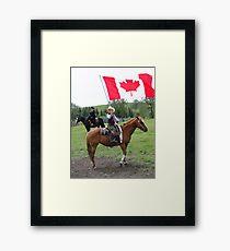 Bar U Ranch - Canada Day 2010 Framed Print