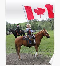 Bar U Ranch - Canada Day 2010 Poster