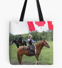 Bar U Ranch - Canada Day 2010 Tote Bag