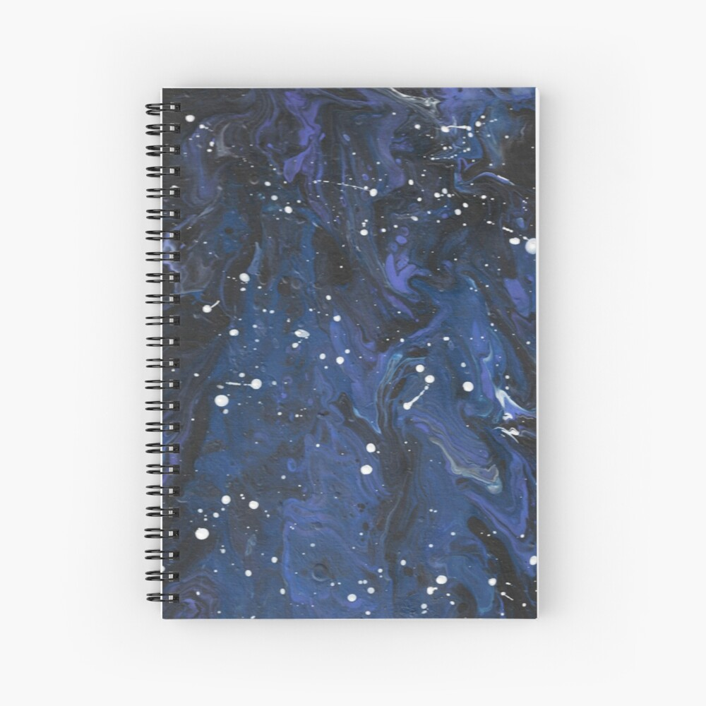 A Pour Galaxy Without You in it Spiral Notebook