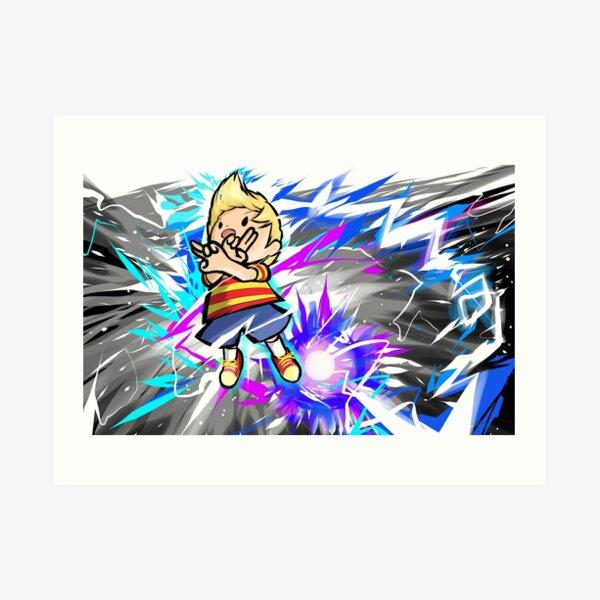 Lucas   PK Thunder Art Print