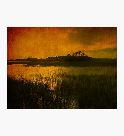 Island in the sun Photographic Print