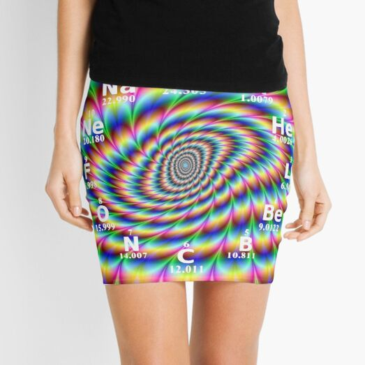 #Chemical #Elements #Wall #Clock Mini Skirt