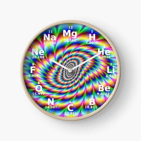 #Chemical #Elements #Wall #Clock Clock