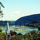 A different view of Harpers Ferry.... by DDLeach