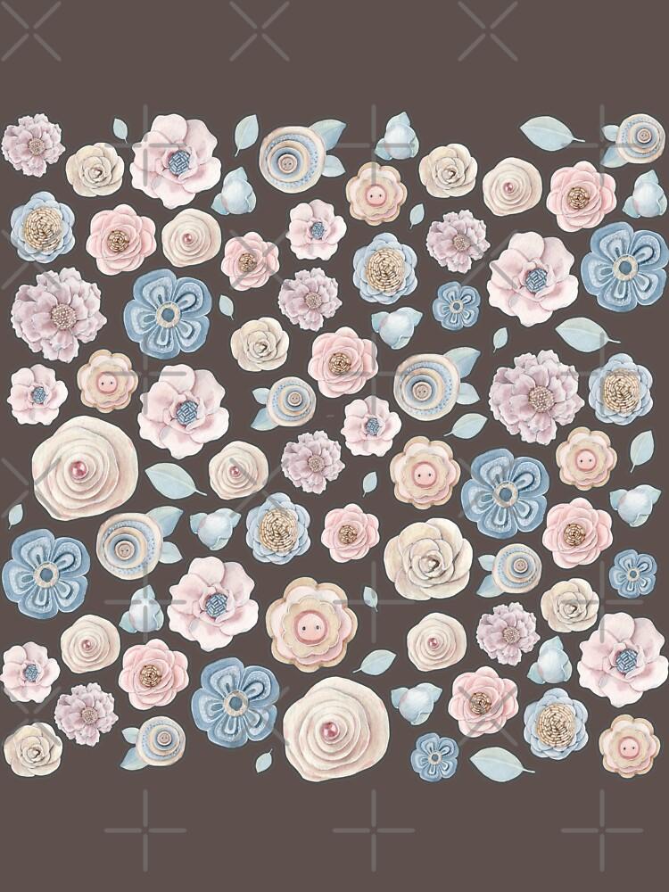 antique floral by raineofiris