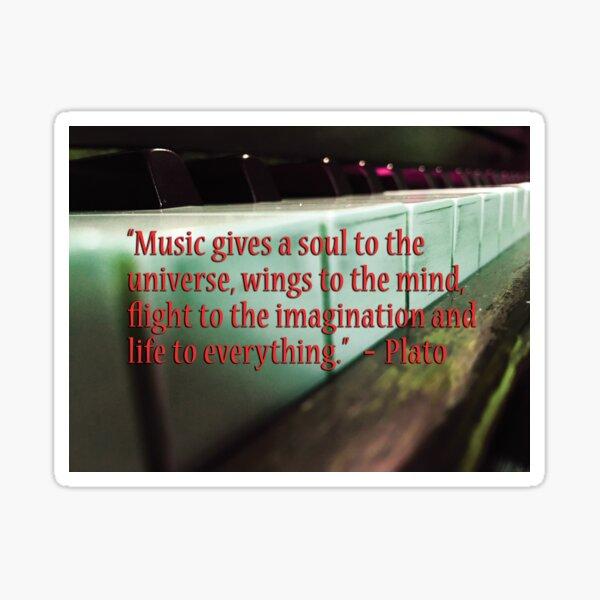 Musical Quote Memes #2 by Jerald Simon - Music Motivation (musicmotivation.com) Sticker