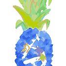 Pineapple Blues by LIMEZINNIASDES