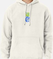 Pineapple Blues Pullover Hoodie