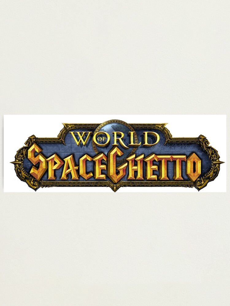 Alternate view of World of SpaceGhetto Photographic Print