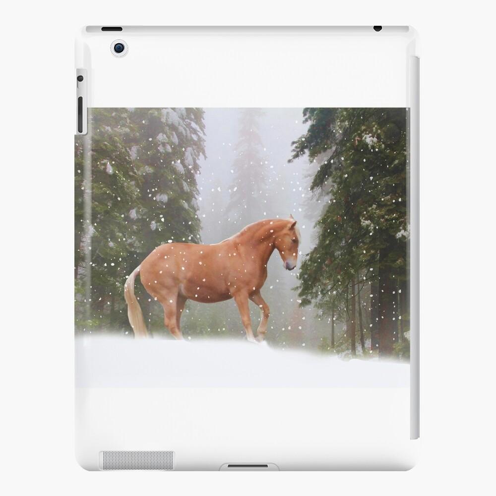 Weihnachtspferd iPad-Hülle & Skin
