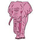 I See A Pink Elephant by rmcbuckeye
