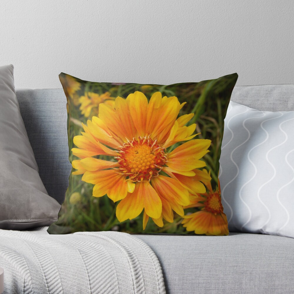 Shining Bright from A Gardener's Notebook Throw Pillow