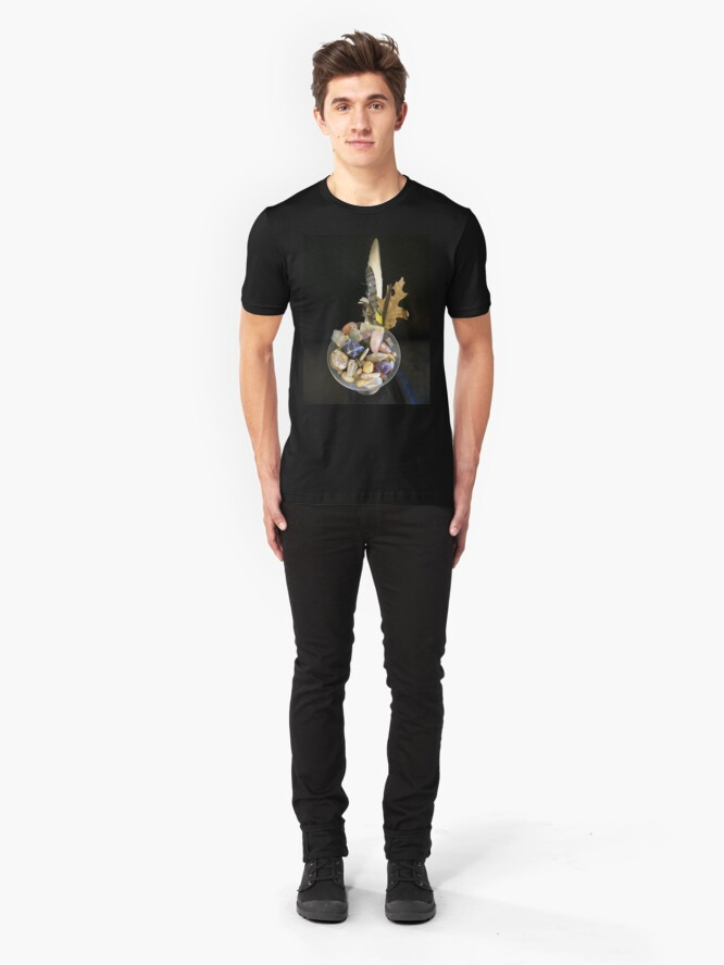 Alternate view of gmestonetini Slim Fit T-Shirt