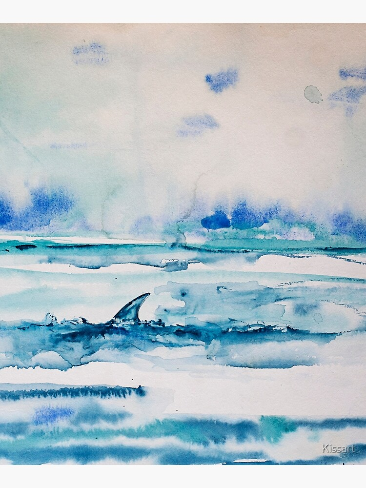 Shark fin  by Kissart
