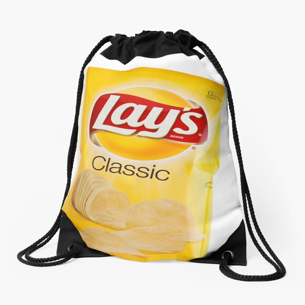 Lay's Chips Drawstring Bag