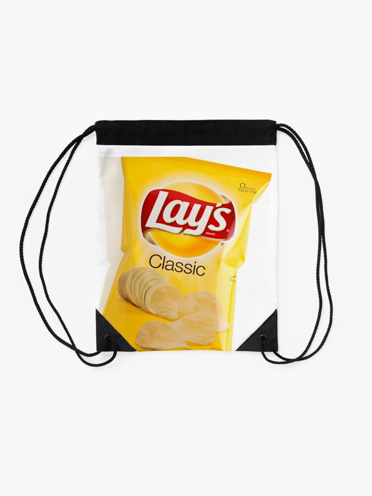 Alternate view of Lay's Chips Drawstring Bag