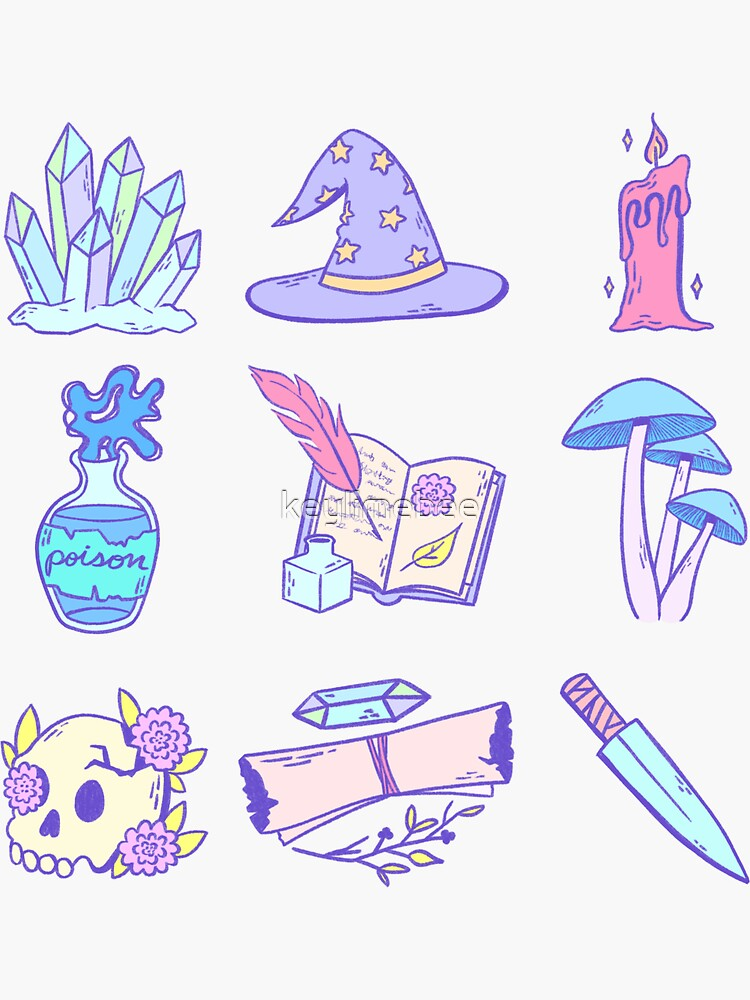 Magical Items (Pastel) by keylimebee