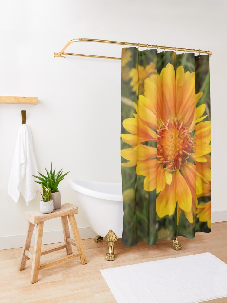 Alternate view of Shining Bright from A Gardener's Notebook Shower Curtain