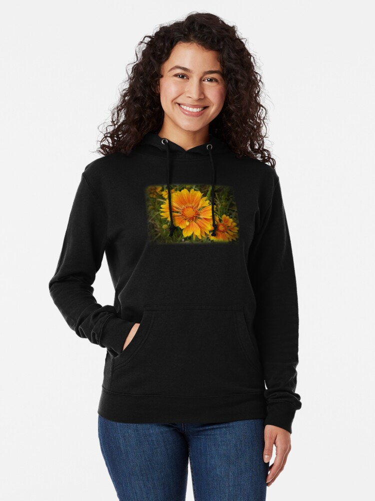 Alternate view of Shining Bright from A Gardener's Notebook Lightweight Hoodie