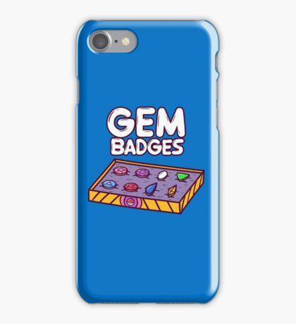 Gem Badges iPhone Case/Skin