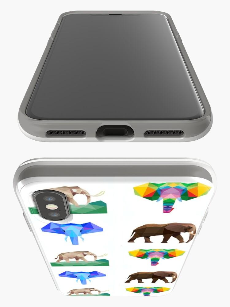 Alternative Ansicht von das größte Landsäugetier, der Elefant iPhone-Hülle & Cover
