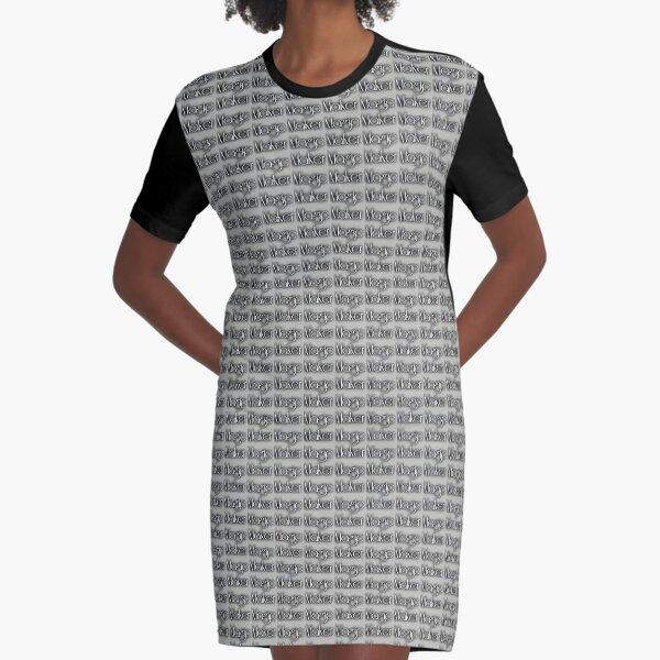 Magic Maker Graphic T-Shirt Dress