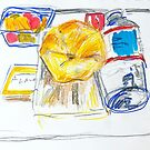 Airplane Meal by Maggie  Carroll