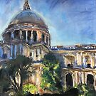 St. Paul's Cathedral by Maggie  Carroll