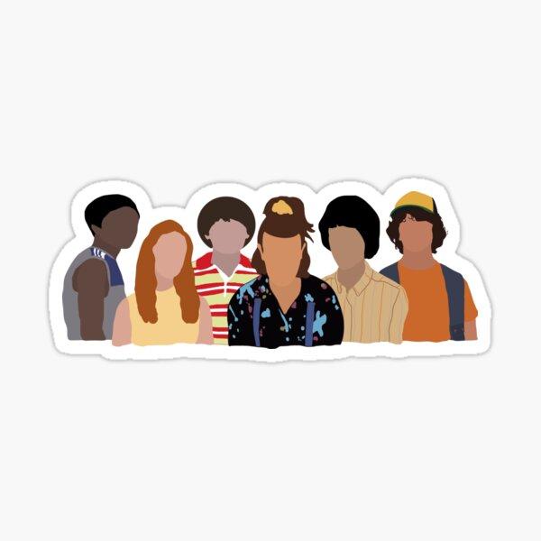 Stranger Things Season 3 Sticker