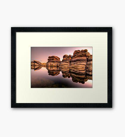 Layered Framed Print