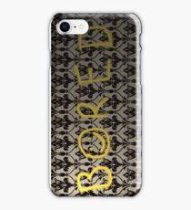 Sherlock's wall iPhone Case/Skin