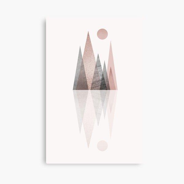 Mountain Reflection Canvas Print