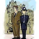 The Inspector and his Son by Maggie  Carroll