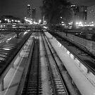 Commuter Line Platform by MarjorieB