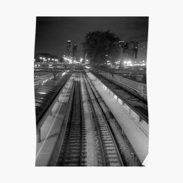 Commuter Line Platform Poster
