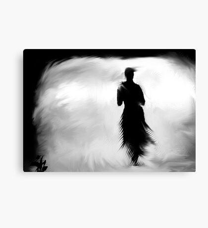 Wind Walking Canvas Print