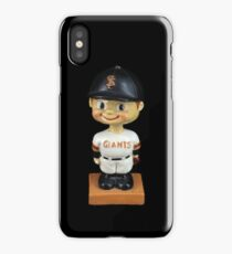 San Francisco Giants Bobblehead iPhone Case