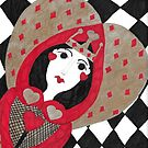 Queen of Hearts by LauriAnnLumby