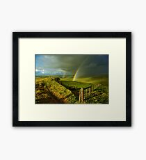"""The Valley Of The Promise"" Framed Print"